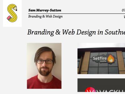 Web Rough web design rough portfolio wip feedback work