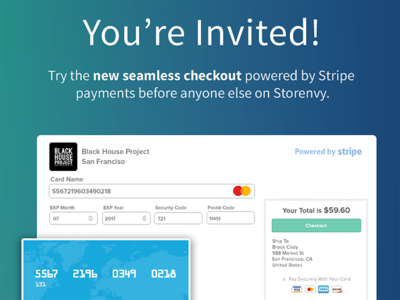 Storenvy 💚 Stripe shop store open stripe products payment cards icons storenvy