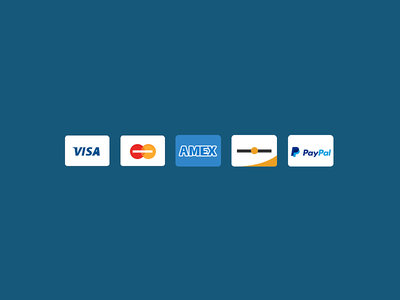 Credit Cards icons flat credit cards storenvy payments e-commerce