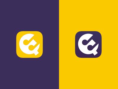 MusicQ  queue purple yellow music icon ios9 ios8