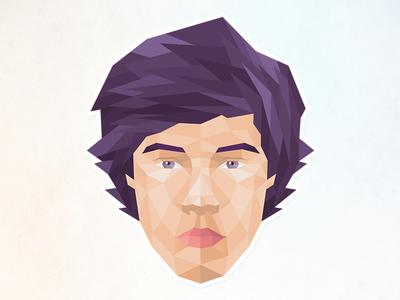 Face face free random illustration