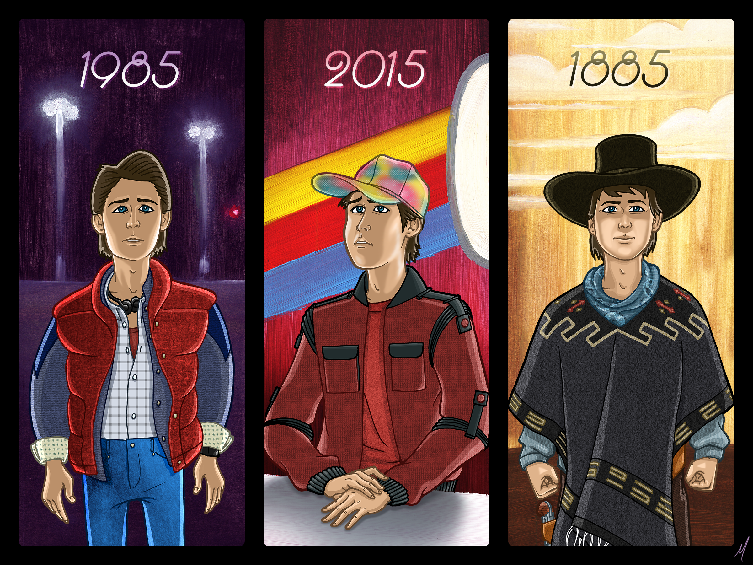 Back to the future x6