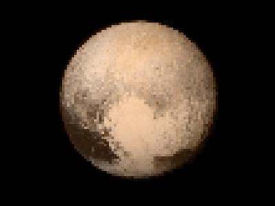 Pluto Pixel Art