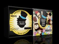 Makies Packaging Visual