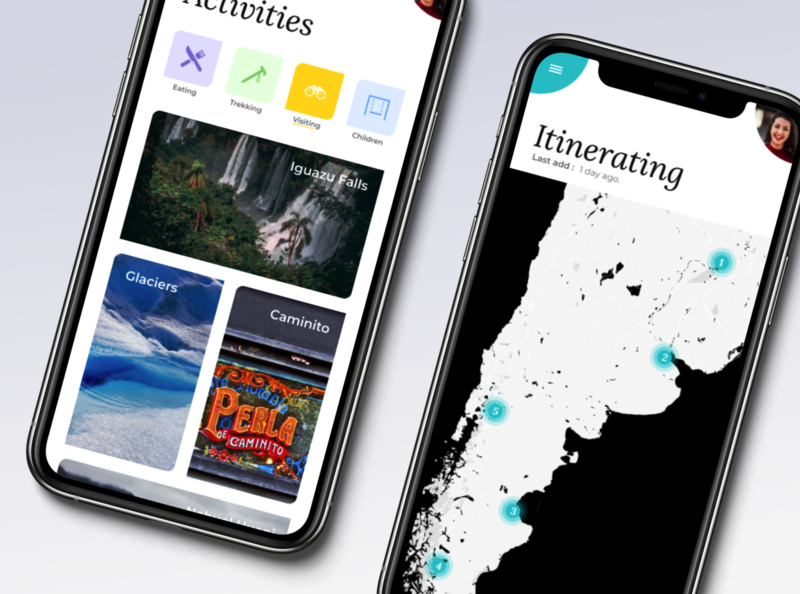 Mobile app - Travel to Argentina !
