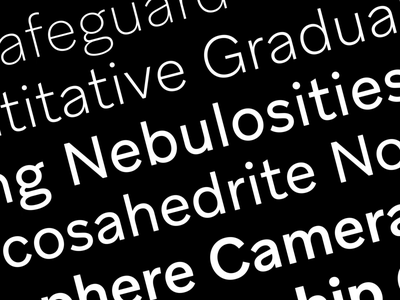 Aribau Grotesk barcelona emtype trials free freebies aftereffects archive ui branding logo grotesk sans design type typography font