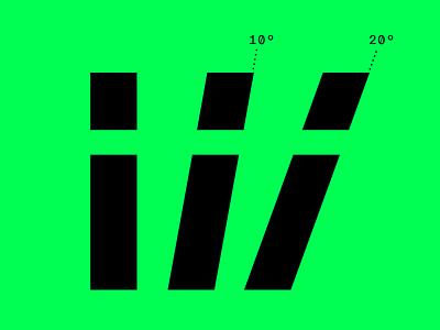 Two italics wip superitalic italic sans type font