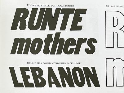 wip akkordeon new release black new font type design barcelona typography emtype font