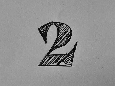 Sketchs two ampersand typography quicksketch
