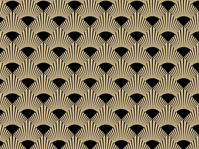 WIP deco art deco motion graphics contrast