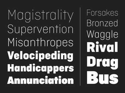 Ciutadella Display, new font! exclusive barcelona emtypefoundry black editorial magazine extreme display newfont font