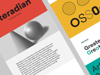 Steradian at Behance
