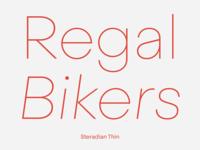 Steradian Thin