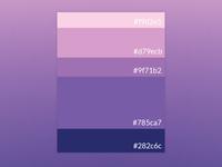 Purple 3 4