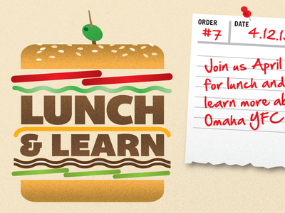 Lunch & Learn Burger