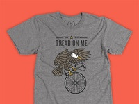Tread on me shirt big
