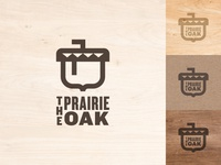 The Prairie Oak Logo