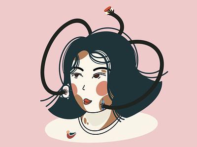 SKIN WHITENING procreate illustrator design illustration medusa