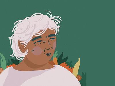 MAMA ROSITA procreate illustrator design illustration