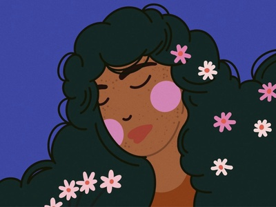 BLOOM blooming acne bloom procreate illustrator design illustration