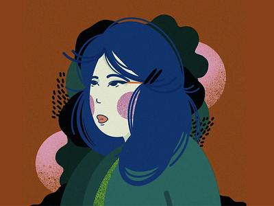 SHIMAMOTO flat existential procreate illustrator design illustration