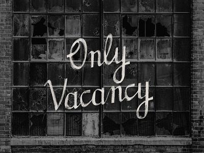 @onlyvacancy Branding 35mm holga polaroid logo lettering custom branding typography instagram photos abandoned vacant camera film photographer