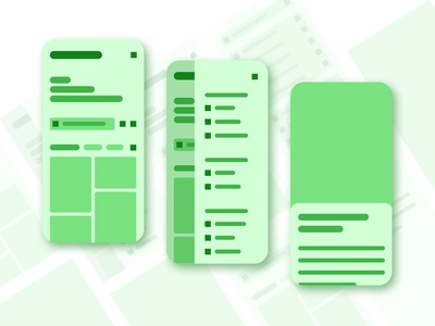 UX Design - Encyclopedia Wireframe