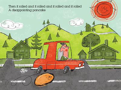 Car Chase mibblio ipad lisa loeb illustration
