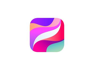 Procreate icon ipados ipad pro mobile logo gradients colorful icon procreate app procreate