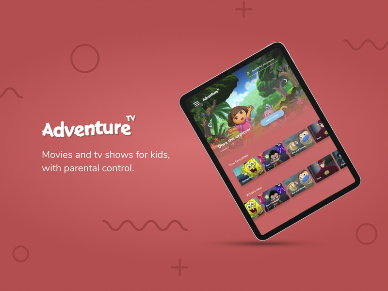 Adventure TV UX & Branding
