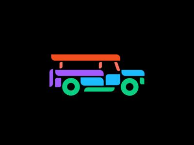 Figma Logo Inspired Jeepney for Figma PH