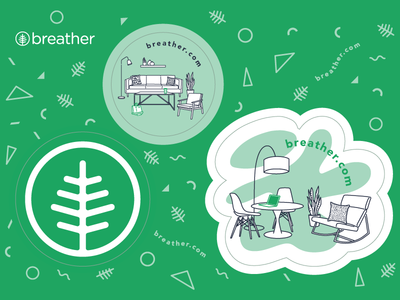 Breather Sticker Sheet