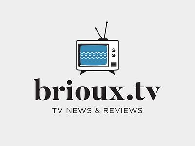 New look for brioux.tv television tv brioux graphic design logo website briouxtv