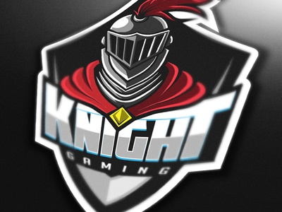 (FOR SALE) Knight Gaming mascot logo