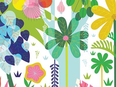 Jungle vector design procreate emilysearle illustration plant illustration leaves plants belize green