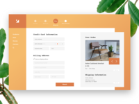 Daily UI 2 - Credit Card Checkout