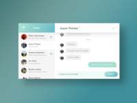 Daily UI 13 - Direct Messaging