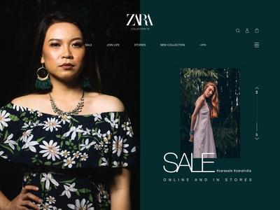 Zara Re-Design Concept