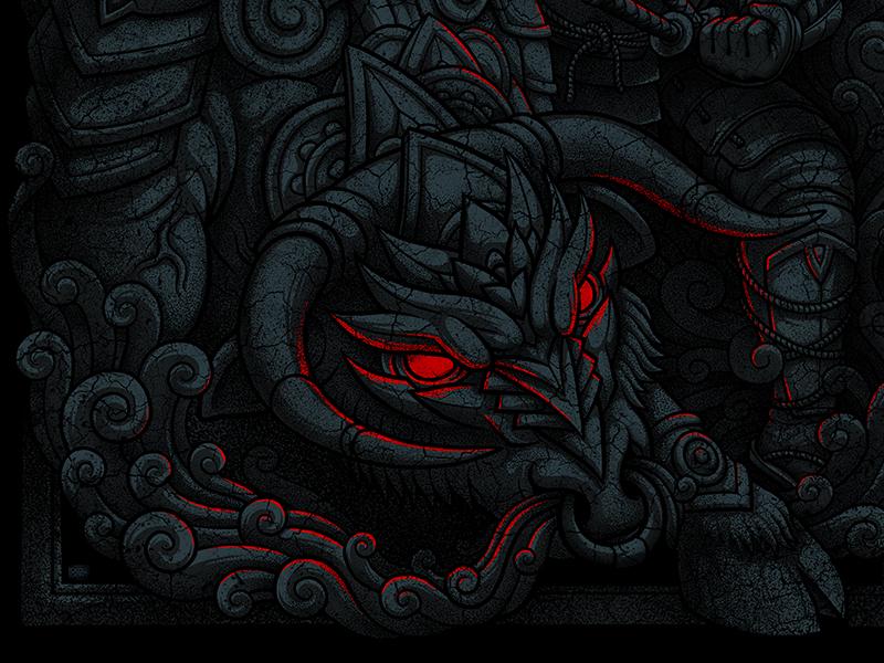 demon samurai 2 by oleggert dribbble