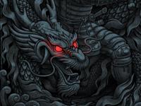 oleggert I Samurai & dragon