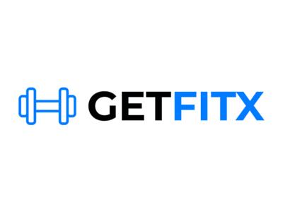 Logo for a Fitness blog logo design minimal fitness design logo