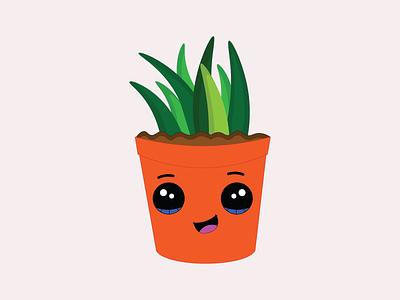 Plant pot design illustration plant plant pot