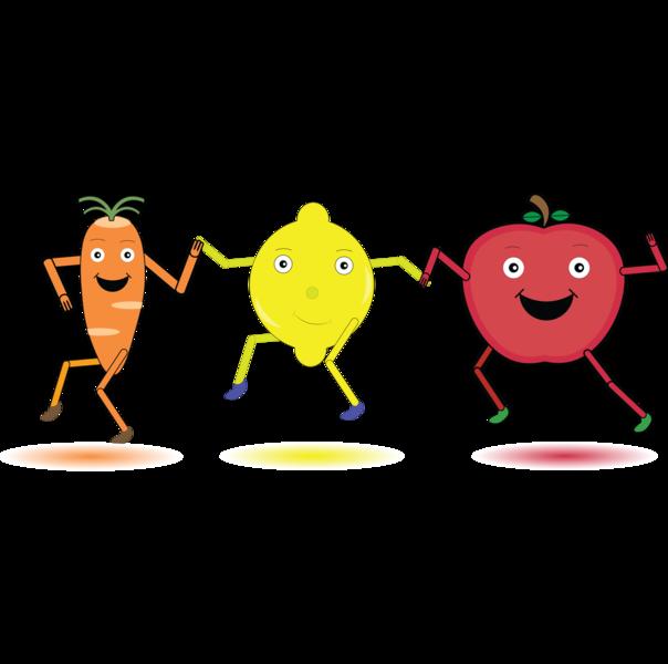 Dancing Fruits illustration design