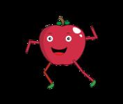 Dancing Apple