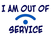 I Am Out Of Service