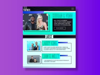 Redesign UI of Gossip Article Website