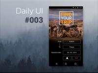 DailyUI #003