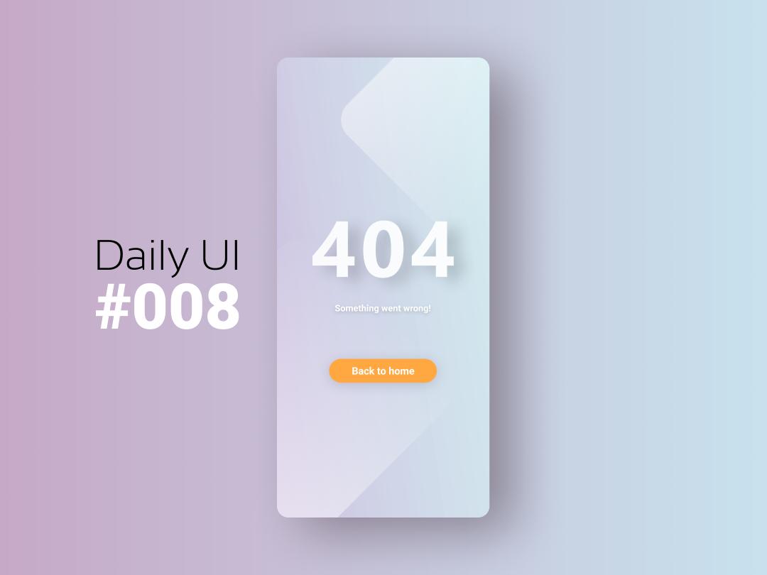 Daily Ui #008 design 404page figmadesign 008 ui daily ui dailyui