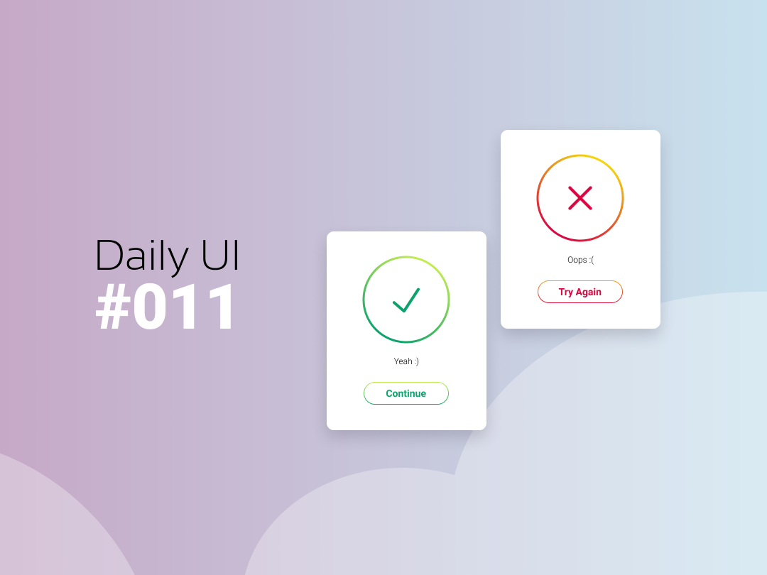 Daily Ui #011 Flash Message figmadesign daily 100 challenge app 011 ui daily ui dailyui
