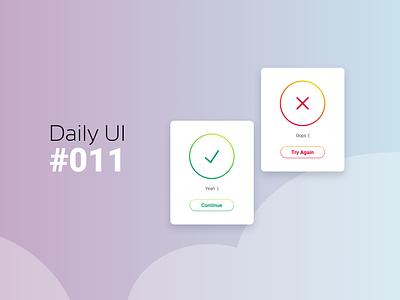 Daily Ui #011 Flash Message figmadesign daily 100 challenge app 011 ui daily ui dailyui